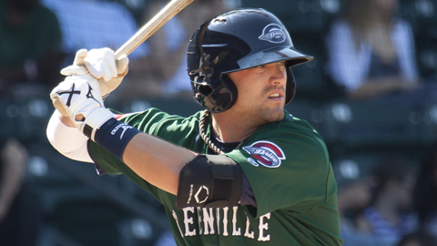 Bryce Brentz hit 30 homers and led the Boston system with a .306 average in 2011.