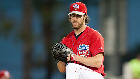 Dan Haren had what should be his only rehab start with the 66ers.